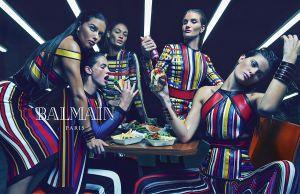 Fashion Campaigns SS 2015: Balmain